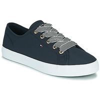 Schoenen Dames Lage sneakers Tommy Hilfiger ESSENTIAL NAUTICAL SNEAKER Marine