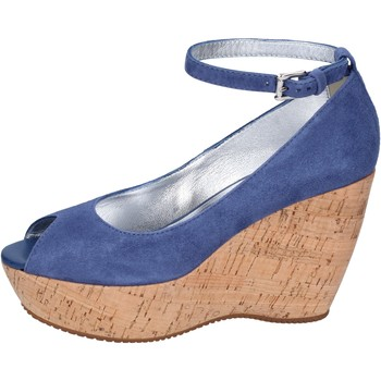 Schoenen Dames pumps Hogan Decollete Camoscio Blu