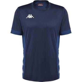 Textiel T-shirts korte mouwen Kappa Maillot  dervio violet