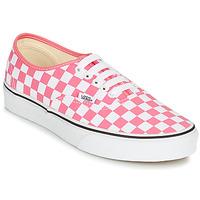 Schoenen Dames Lage sneakers Vans AUTHENTIC Roze