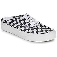 Schoenen Leren slippers Vans AUTHENTIC MULE Zwart / Wit