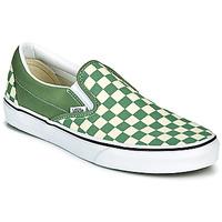 Schoenen Heren Instappers Vans CLASSIC SLIP ON Groen