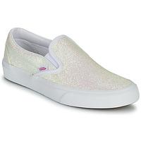 Schoenen Dames Instappers Vans CLASSIC SLIP ON Uv / Glitter / Beige / Roze