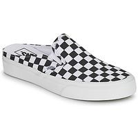 Schoenen Leren slippers Vans CLASSIC SLIP ON MULE Zwart / Wit