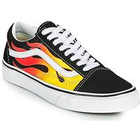 Schoenen Lage sneakers Vans OLD SKOOL Zwart / Oranje