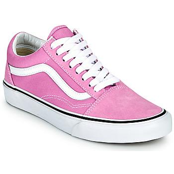 Schoenen Dames Lage sneakers Vans OLD SKOOL Lila