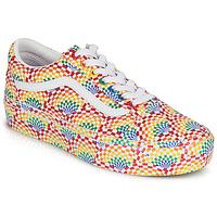 Schoenen Dames Lage sneakers Vans OLD SKOOL PLATFORM Multicolour