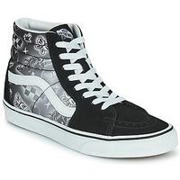 Schoenen Dames Hoge sneakers Vans SK8 HI Zwart / Wit