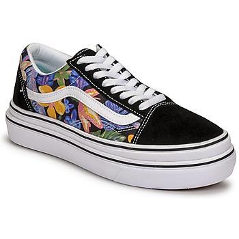 Schoenen Dames Lage sneakers Vans SUPER COMFYCUSH OLD SKOOL Zwart / Fleur