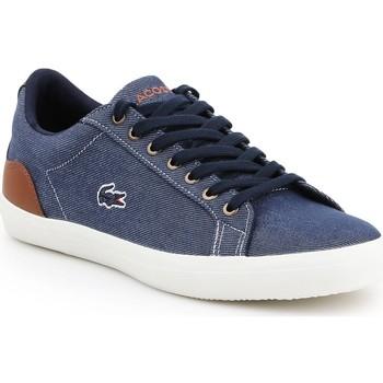 Schoenen Heren Lage sneakers Lacoste Lerond 317 2 CAM 7-34CAM00422Q8 navy , brown