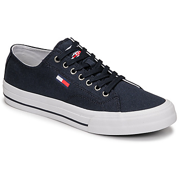 Schoenen Heren Lage sneakers Tommy Jeans LONG LACE UP VULC Blauw