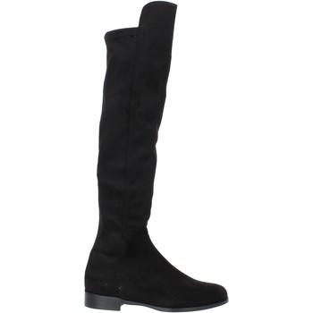 Schoenen Dames Enkellaarzen Grace Shoes 867001 Zwart