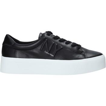 Schoenen Dames Sneakers Calvin Klein Jeans B4E00036 Zwart