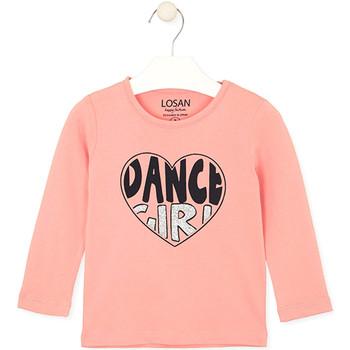 Textiel Kinderen T-shirts & Polo's Losan 026-1632AL Roze