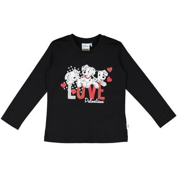 Textiel Kinderen T-shirts & Polo's Melby 40C0283DN Zwart