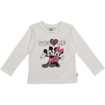 Textiel Kinderen T-shirts & Polo's Melby 40C0403DN Wit