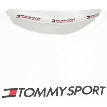 Textiel Dames T-shirts & Polo's Tommy Hilfiger S10S100445 Wit