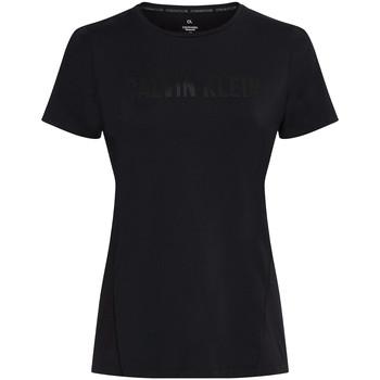 Textiel Dames T-shirts & Polo's Calvin Klein Jeans 00GWS0K195 Zwart