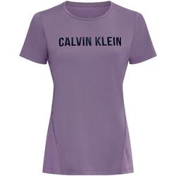 Textiel Dames T-shirts & Polo's Calvin Klein Jeans 00GWS0K195 Paars