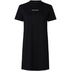 Textiel Dames Jurken Calvin Klein Jeans J20J214170 Zwart