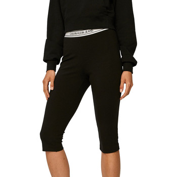 Textiel Dames Leggings Calvin Klein Jeans J20J214302 Zwart