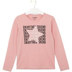 Textiel Kinderen T-shirts & Polo's Losan 024-1631AL Roze