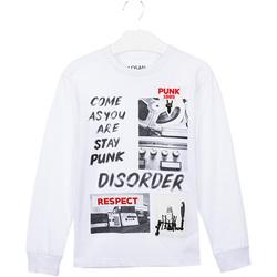 Textiel Kinderen T-shirts & Polo's Losan 023-1000AL Wit
