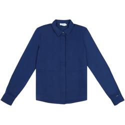 Textiel Dames Overhemden Calvin Klein Jeans K20K202183 Blauw