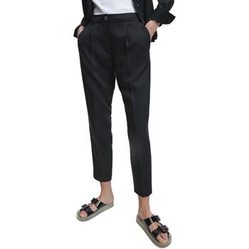 Textiel Dames Broeken / Pantalons Calvin Klein Jeans K20K202224 Zwart