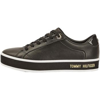 Schoenen Dames Sneakers Tommy Hilfiger FW0FW05210 Zwart