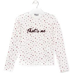 Textiel Kinderen T-shirts & Polo's Losan 024-1008AL Wit