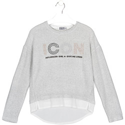 Textiel Kinderen T-shirts & Polo's Losan 024-1024AL Grijs