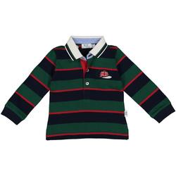 Textiel Jongens Polo's lange mouwen Melby 20C0270 Groen