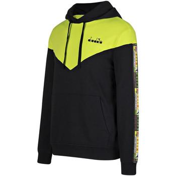 Textiel Heren Sweaters / Sweatshirts Diadora 502176426 Zwart