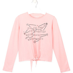 Textiel Kinderen T-shirts & Polo's Losan 024-1202AL Roze