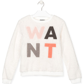 Textiel Kinderen Sweaters / Sweatshirts Losan 024-6021AL Wit