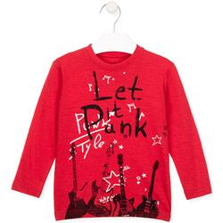 Textiel Kinderen T-shirts & Polo's Losan 025-1001AL Rood