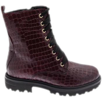 Schoenen Dames Laarzen Calzaturificio Loren LOC3918bor rosso