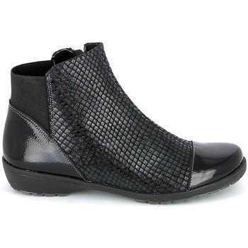Schoenen Dames Laarzen Boissy 8081 Noir Zwart