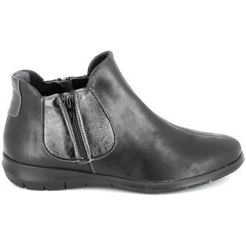 Schoenen Dames Laarzen Boissy 66000 Noir Zwart