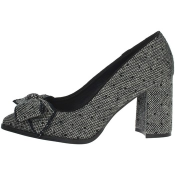Schoenen Dames pumps Menbur 21944 Black/Grey