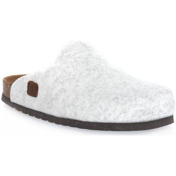 Schoenen Klompen Bioline GHIACCIO MERINOS Bianco