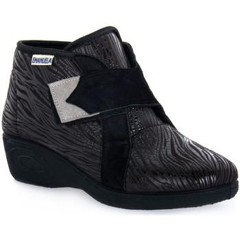 Schoenen Dames Hoge sneakers Emanuela 2302 VOX NERO Nero
