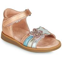 Schoenen Meisjes Sandalen / Open schoenen Acebo's 1228-RAME Brons