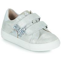 Schoenen Meisjes Lage sneakers Acebo's 5471-PLATA-B Zilver