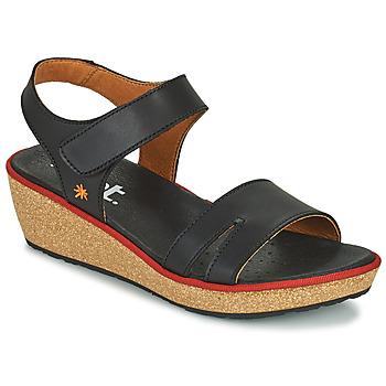Schoenen Dames Sandalen / Open schoenen Art CAPRI Zwart