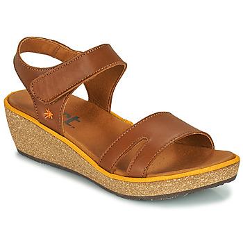 Schoenen Dames Sandalen / Open schoenen Art CAPRI Bruin
