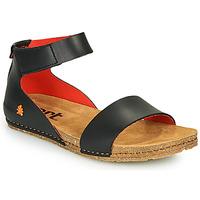 Schoenen Dames Sandalen / Open schoenen Art CRETA Zwart / Rood