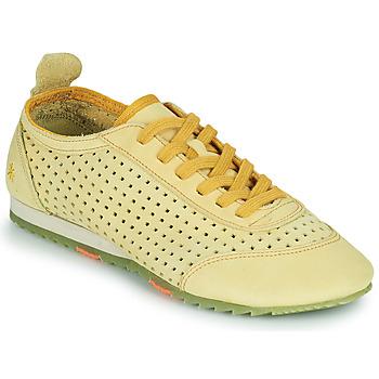 Schoenen Dames Lage sneakers Art KIOTO Geel