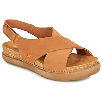 Schoenen Dames Sandalen / Open schoenen Art RHODES Bruin